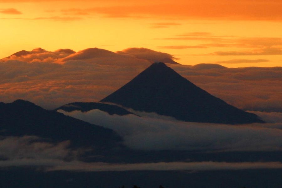 Arenal Volcano Sunset